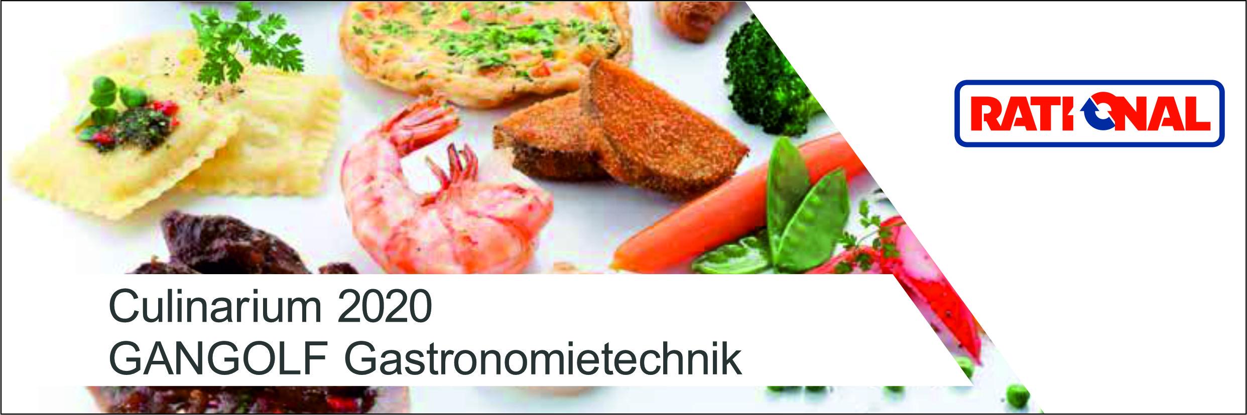 Culinarium 2020 - RATIONAL live erleben.